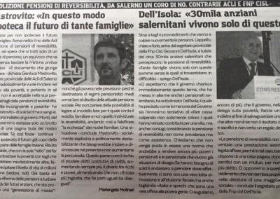 Cronache di Salerno 22/02/2016